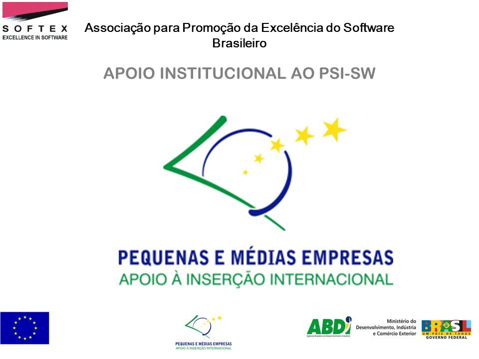 APOIO INSTITUCIONAL AO PSI-SW Associação para Promoção da Excelência do Software Brasileiro