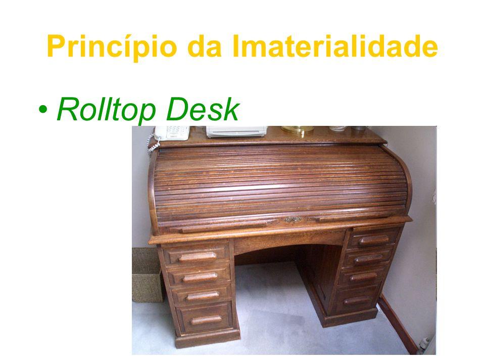 Princípio da Imaterialidade Rolltop Desk
