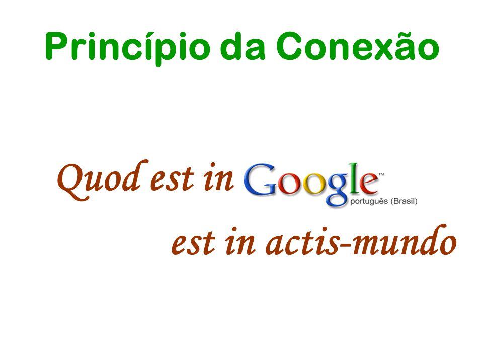 Princípio da Conexão Quod est in Google est in actis-mundo