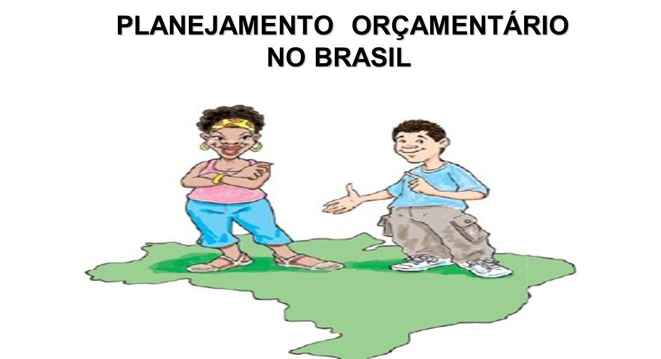 PLANEJAMENTO ORÇAMENTÁRIO NO BRASIL PLANEJAMENTO ORÇAMENTÁRIO NO BRASIL