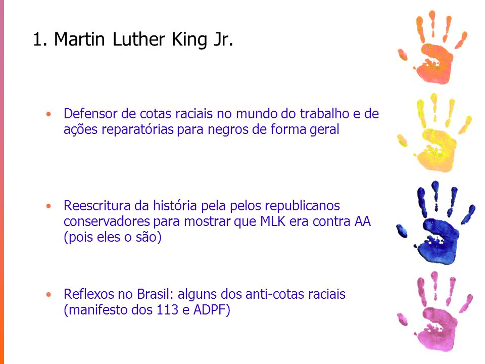 1.Martin Luther King Jr.