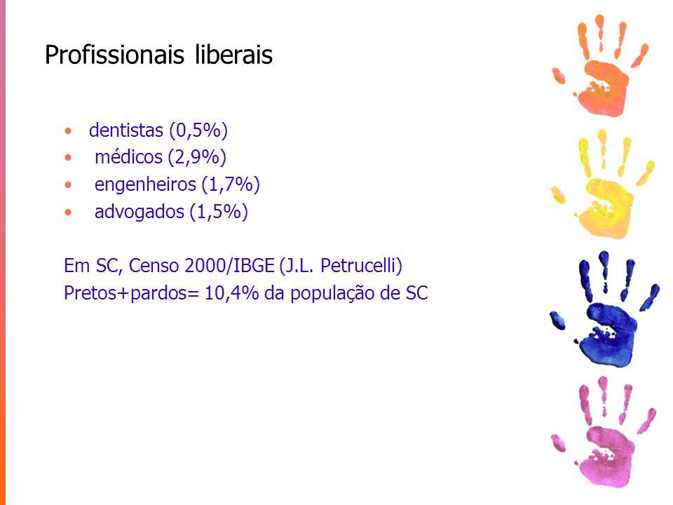 Formados em Santa Catarina (Mapa da Cor no Ens.Sup.