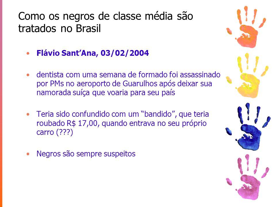 Mobilidade social e raça no Brasil Mobilidade social existe e poderia superar efeitos da escravidão (J.