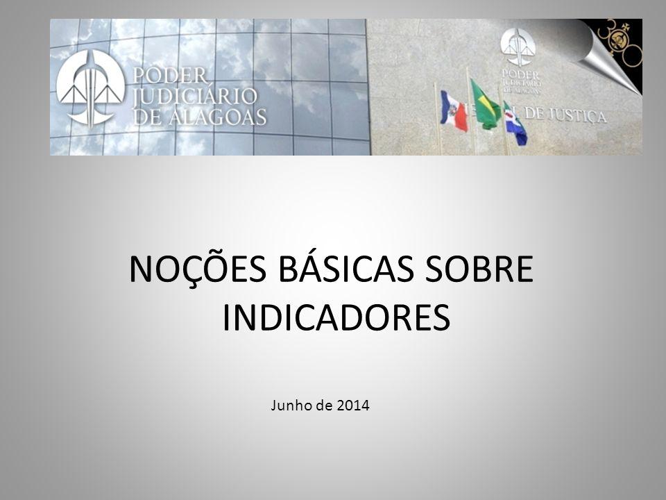 Junho de 2014 NOÇÕES BÁSICAS SOBRE INDICADORES