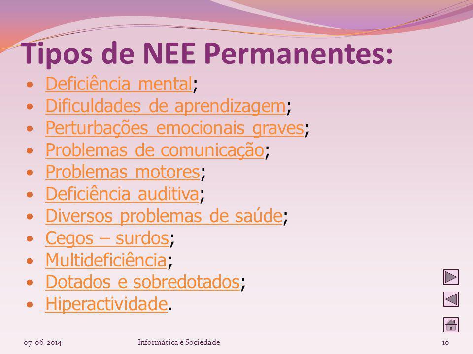 Deficiência mental; Deficiência mental Dificuldades de aprendizagem; Dificuldades de aprendizagem Perturbações emocionais graves; Perturbações emocion