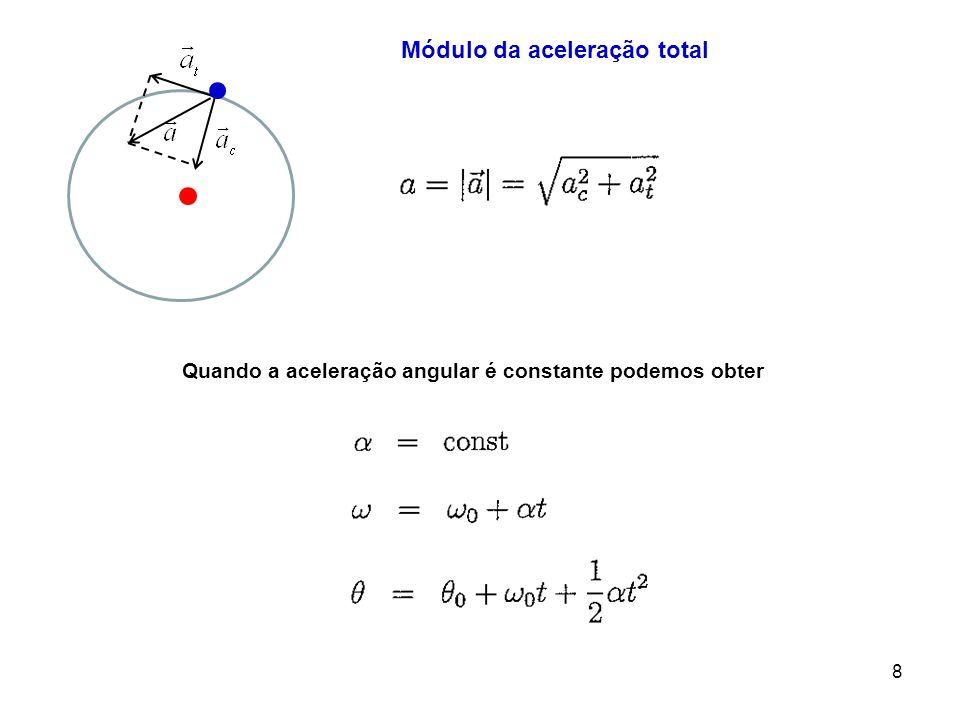 b) Sabendo que a velocidade da partícula é e calcule a aceleração da partícula.