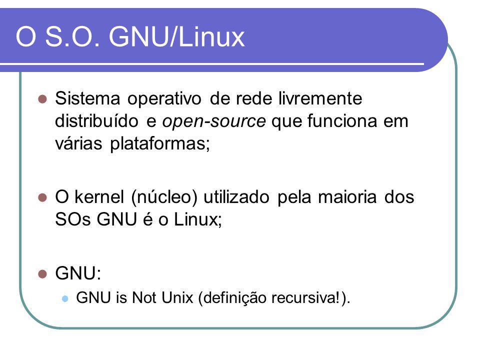 O kernel Linux O kernel Linux foi desenvolvido por um jovem estudante da Universidade de Helsínquia (Finlândia), chamado Linus Torvalds.