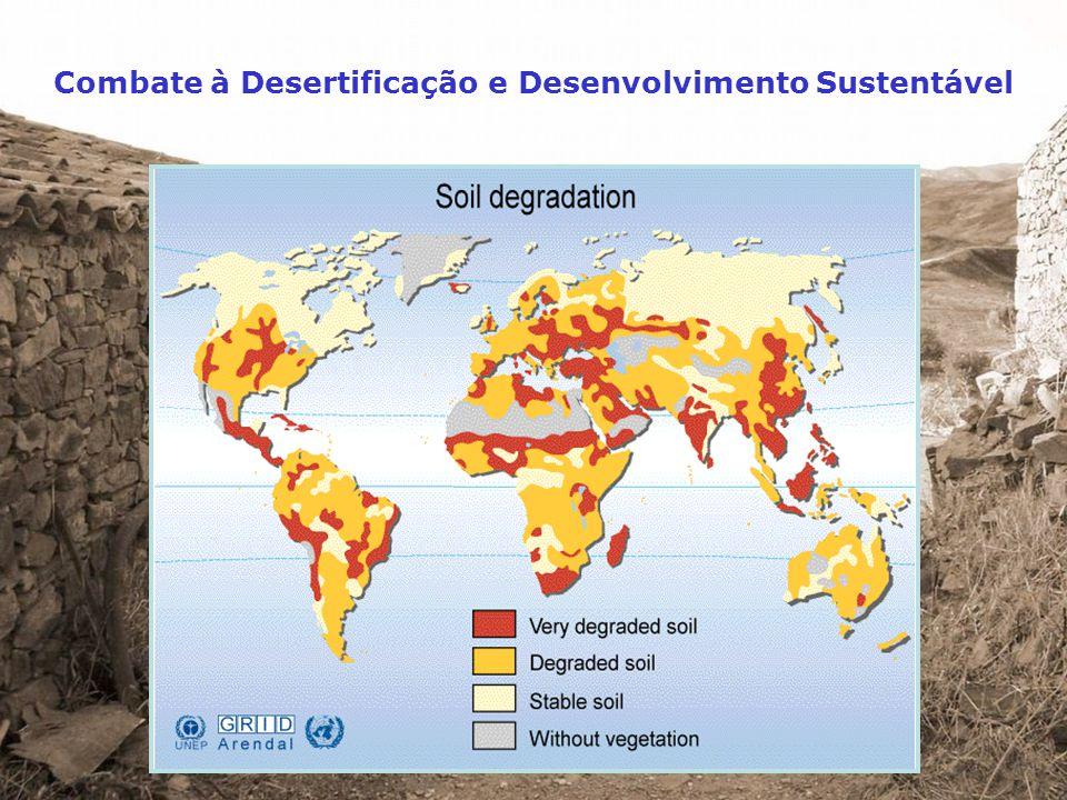 Vulnerabilidade Combate à Desertificação e Desenvolvimento Sustentável