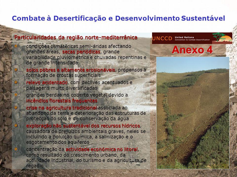 Combate à Desertificação e Desenvolvimento Sustentável EEA – European Environment Agency Actual Soil Erosion Risk