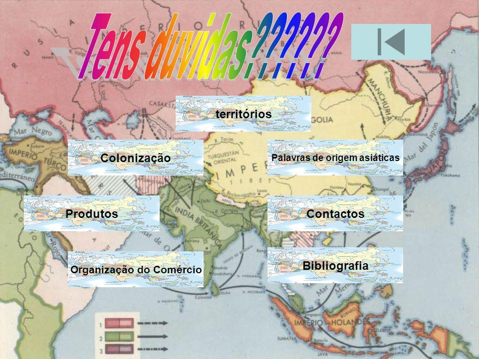 Os contactos com os Portugueses eram pacíficos.