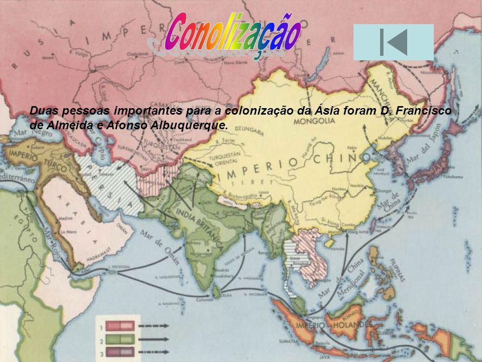 Os territórios ocupados pelo império português no sec. XVI eram: Ormuz Damão Goa Calecute Índia Cochim Cantão Macau Malaca Timor