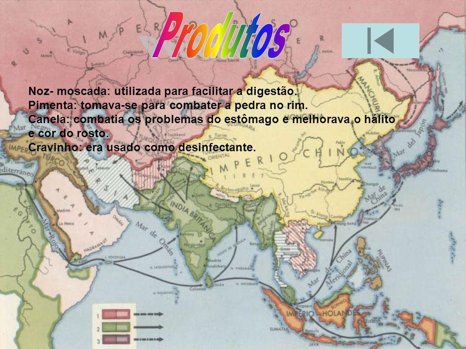 Duas pessoas importantes para a colonização da Ásia foram D. Francisco de Almeida e Afonso Albuquerque.