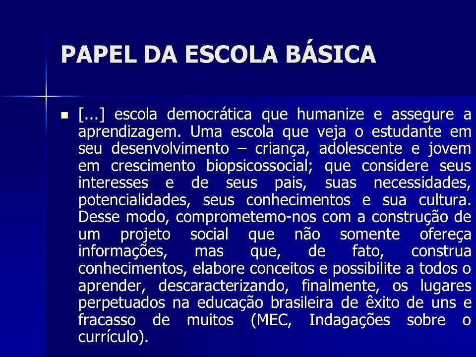 DADOS DA DESIGUALDADE O Conselho de Desenvolvimento Econômico e Social (CDES) aponta como macro-problema da educação: o nível de escolaridade da população brasileira é baixo e desigual