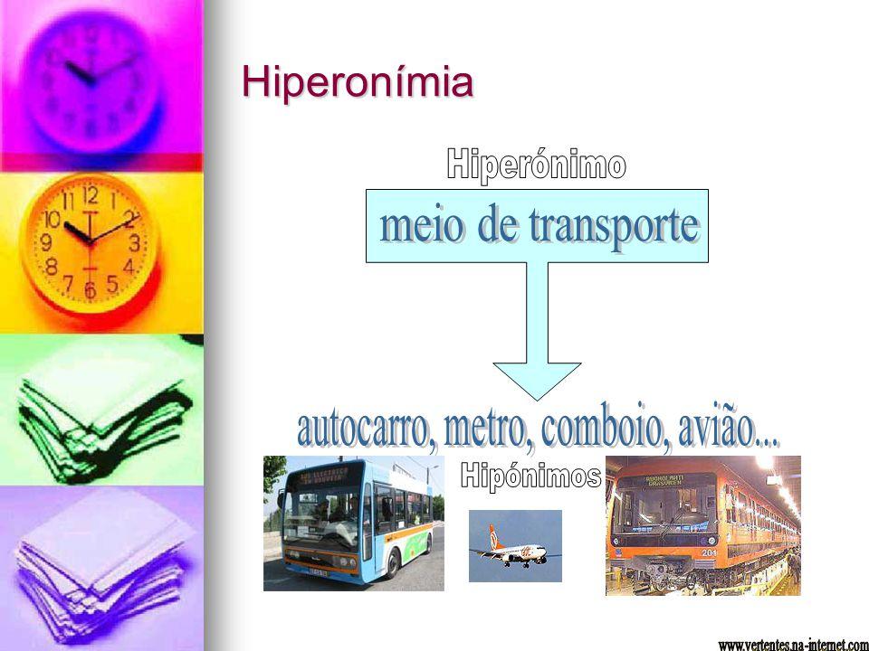 Hiperonímia
