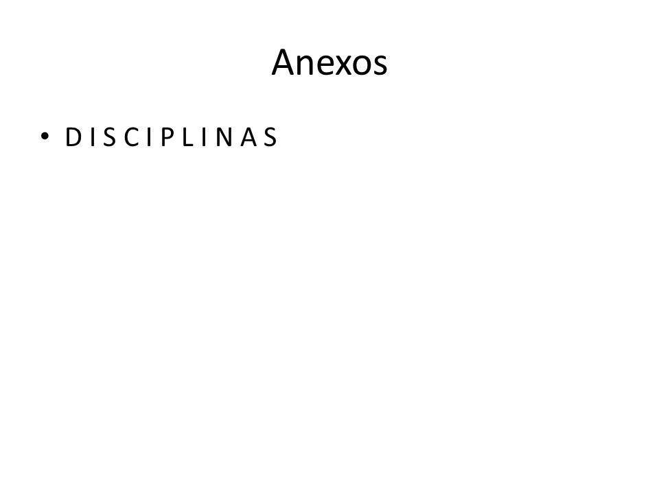 Anexos D I S C I P L I N A S