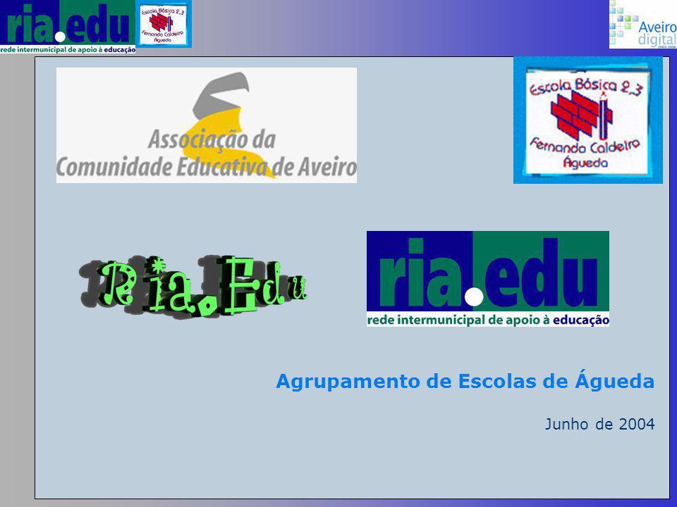 Agrupamento de Escolas de Águeda Junho de 2004