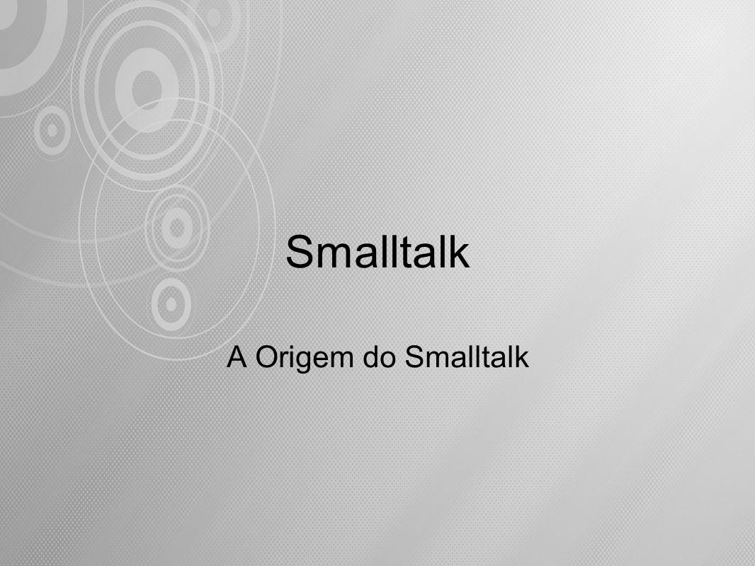 Estruturas de Controle Repetição condicional - whileTrue: e whileFalse: Smalltalk implementa a repetição condicional de um bloco de expressões através do envio da mensagem whileTrue: (ou whileFalse:) a outro bloco, cujo valor retornado deve ser um Booleano.