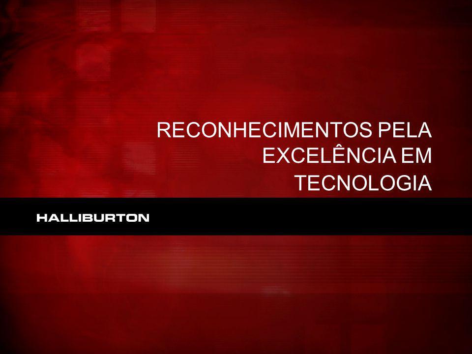 RECONHECIMENTOS PELA EXCELÊNCIA EM TECNOLOGIA