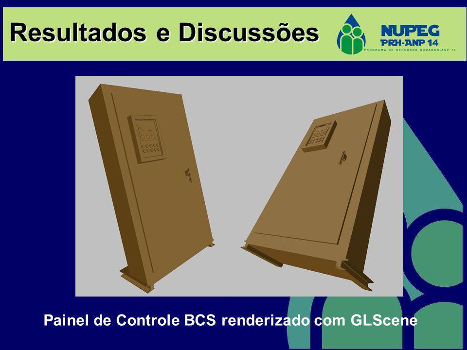 Painel de Controle BCS renderizado com GLScene