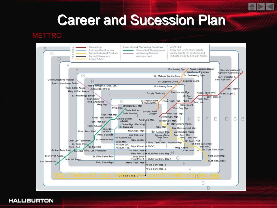 Career and Sucession Plan http://halworld.corp.halliburton.com/hr/mettro/index.asp METTRO