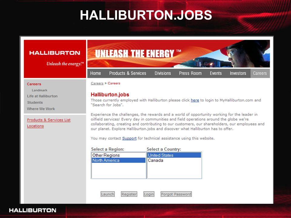 HALLIBURTON.JOBS