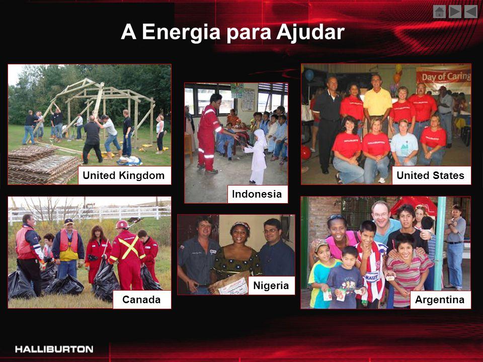 United Kingdom IndonesiaUnited States Canada Nigeria Argentina A Energia para Ajudar
