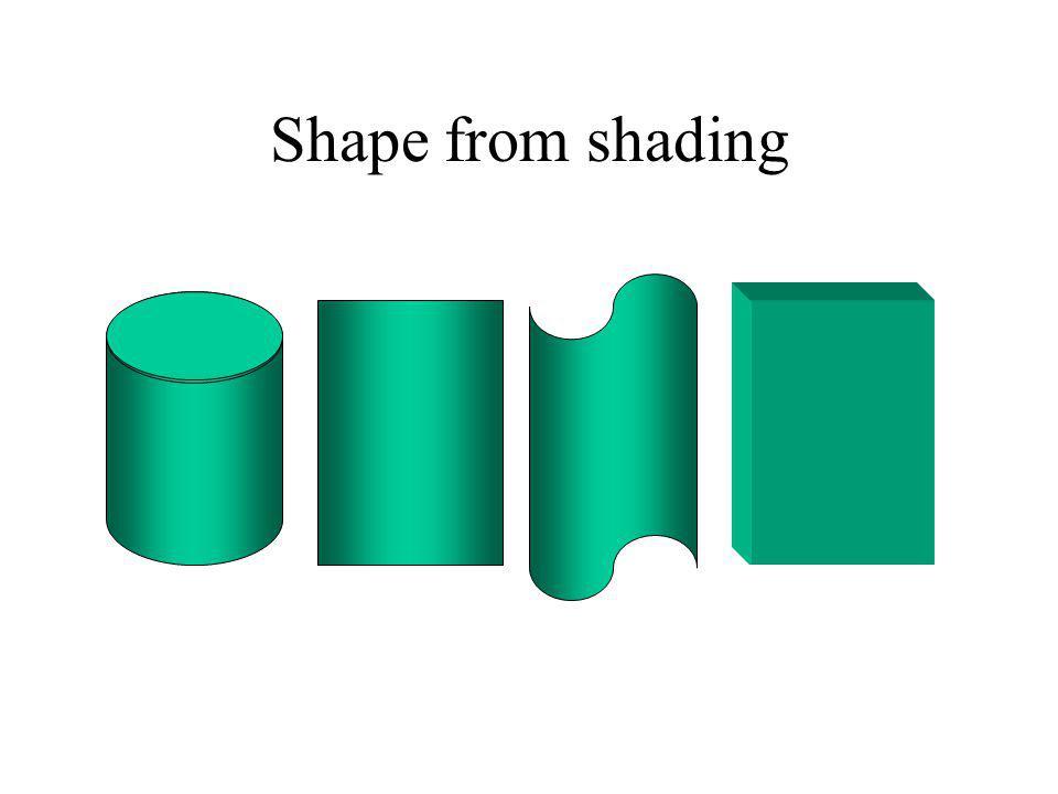 Relaxação Inicializa orientação para cada elemento (aos seus píxels na imagem baseado na intensidade) Orientação dos vizinhos é relaxada umas contra as outras até que cada uma convirja par a uma orientação única