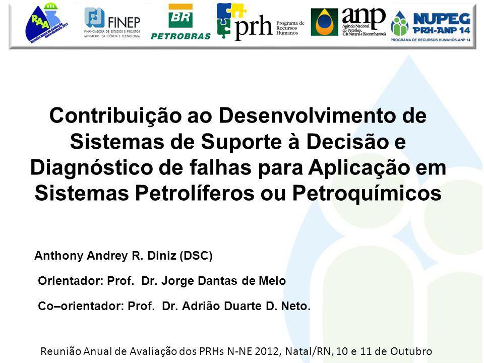 Anthony Andrey R. Diniz (DSC) Orientador: Prof. Dr. Jorge Dantas de Melo Co–orientador: Prof. Dr. Adrião Duarte D. Neto. Contribuição ao Desenvolvimen