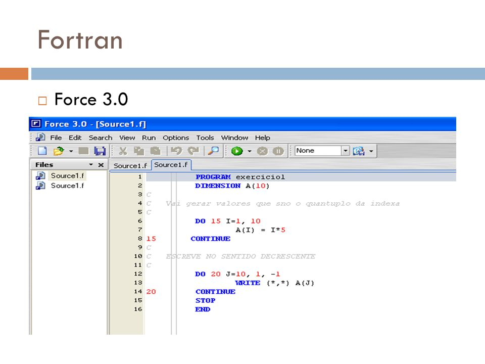 Fortran Force 3.0