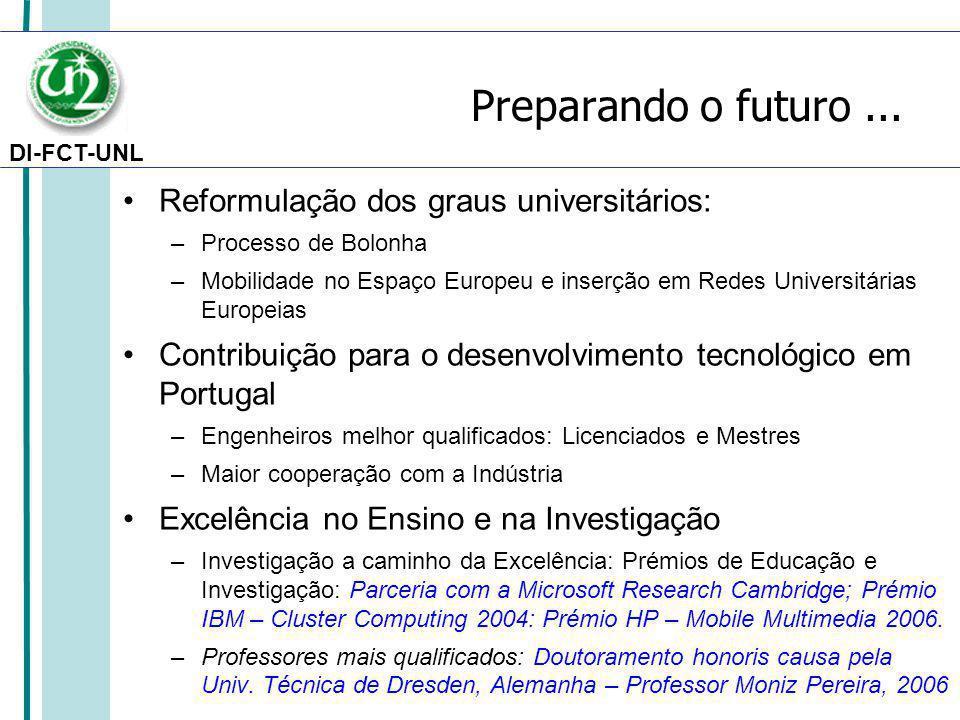 DI-FCT-UNL Preparando o futuro...