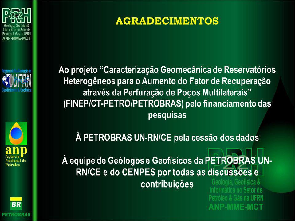 Ao projeto Caracterização Geomecânica de Reservatórios Heterogêneos para o Aumento do Fator de Recuperação através da Perfuração de Poços Multilaterai