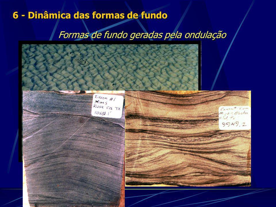 Formas de fundo geradas pela ondulação 6 - Dinâmica das formas de fundo