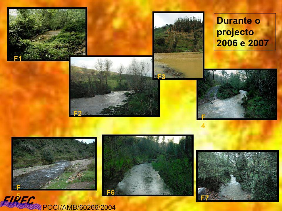 Resultados (abordagem diacrónica) Macroinvertebrados Outono POCI/AMB/60266/2004