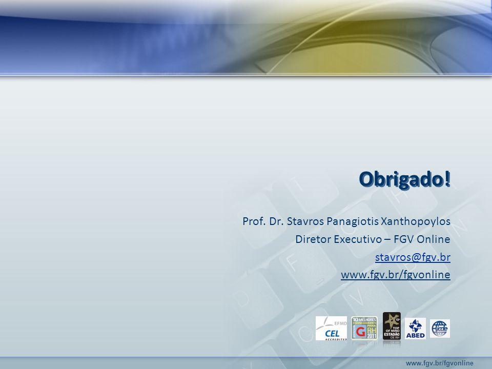 www.fgv.br/fgvonline Prof. Dr.