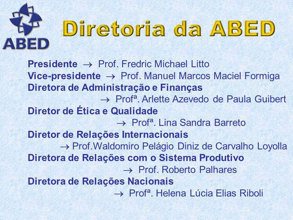 Pelos Manifestos da ABED : princípios dirigidos à Nação Brasileira; Pelo Código de Ética: princípios de ética na prática de Educação a Distância entre