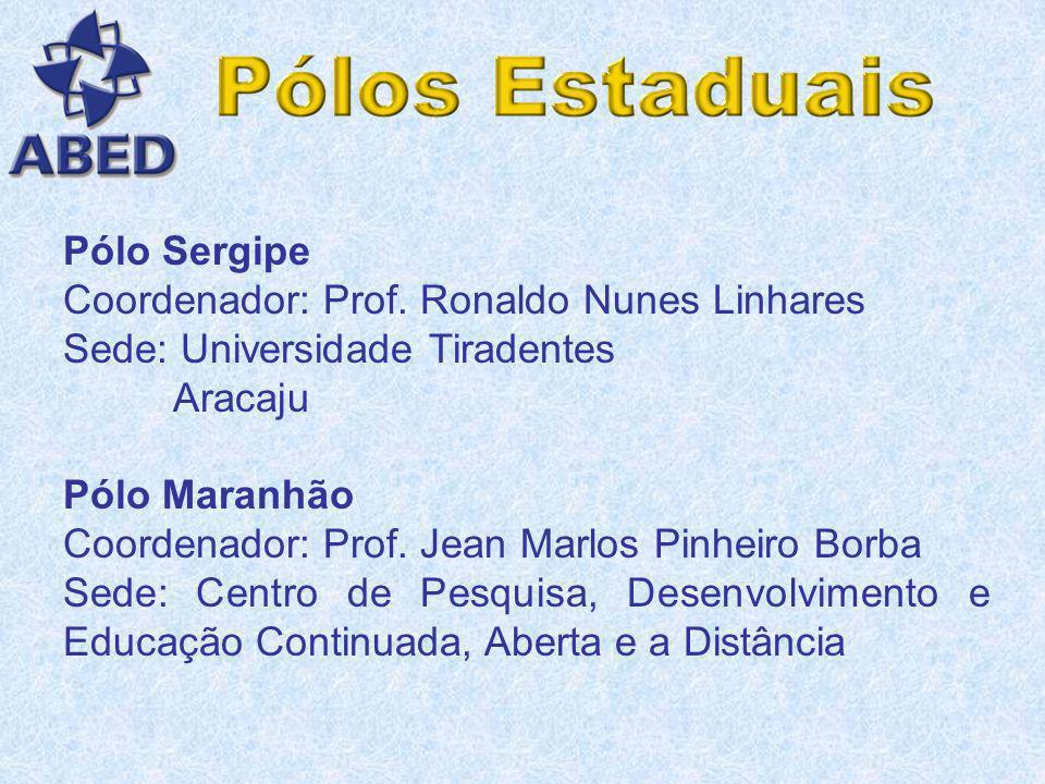 Pólo Brasília Coordenadores: Prof. Eli Valter Gil Filho Prof. Marcos Resende Vieira Sede: Poliedro Informática, Consultoria e Serviços – Grupo webAula