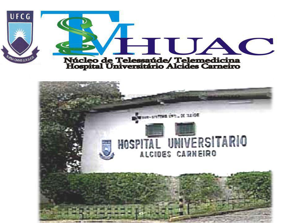 AÇÕES DESENVOLVIDAS PELO NUTESM - NÚCLEO DE TELESSAÚDE/TELEMEDICINA HOSPITAL UNIVERSITÁRIO ALCIDES CARNEIRO DA UNIVERSIDADE FEDERAL DE CAMPINA GRANDE