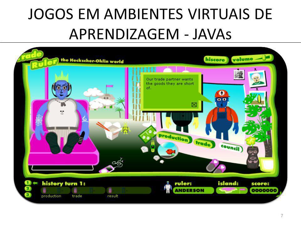 JOGOS EM AMBIENTES VIRTUAIS DE APRENDIZAGEM - JAVAs 7