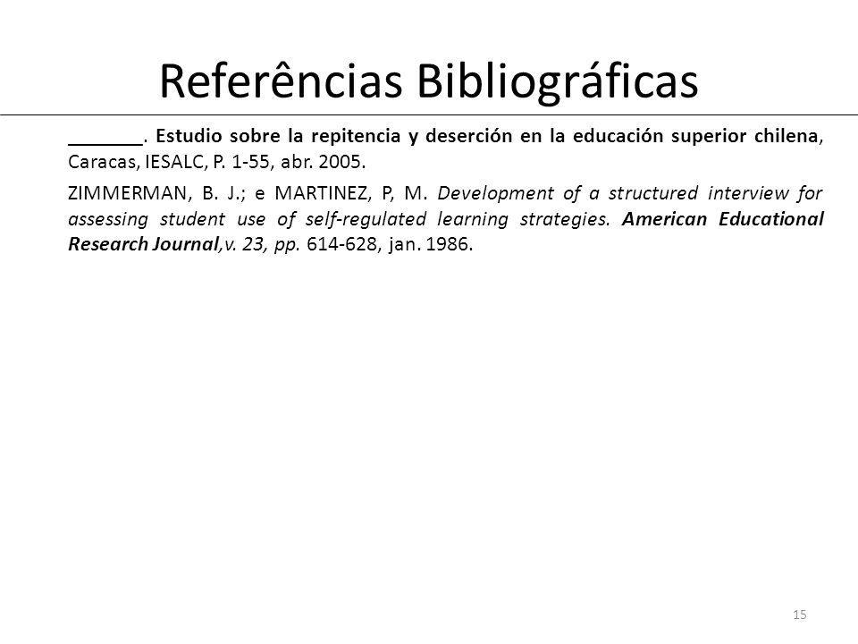 Referências Bibliográficas _______.