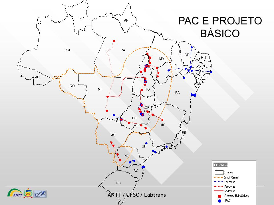 slide 32 de 20 ANTT / UFSC / Labtrans PAC E PROJETO BÁSICO