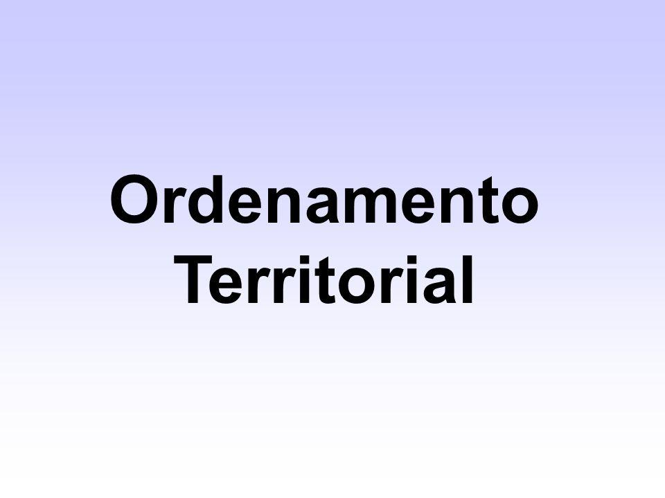 Ordenamento Territorial