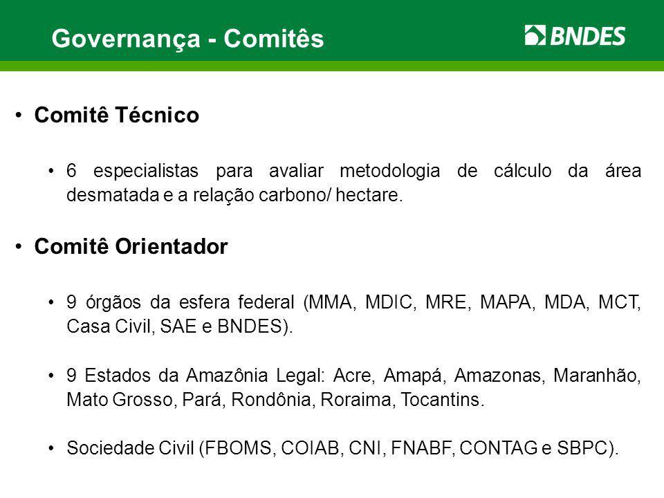 Acompanhamento e Prestação de contas Acompanhamento da implementação físico- financeira dos projetos Monitoramento da lógica da intervenção -Quadro lógico - Matriz de Resultados FA Monitoramento de resultados dos projetos-Quadro Lógico dos projetos Auditoria externa independente do BNDES- conta Fundo Amazônia Auditorias externas independentes do Fundo Amazônia financeira/ operacional Aprovação das contas e zelo pela conformidade das aplicações as diretrizes e critérios - COFA Relatórios aos Doadores