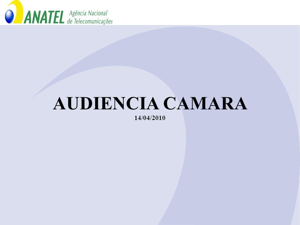AUDIENCIA CAMARA 14/04/2010