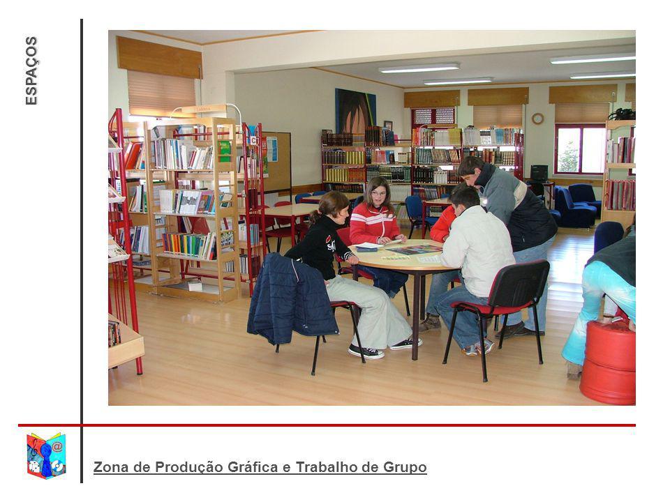 ESPAÇOS Zona de Produção Gráfica e Trabalho de Grupo