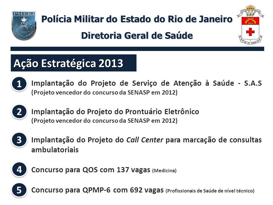 Concurso para QPMP-6 Polícia Militar do Estado do Rio de Janeiro Diretoria Geral de Saúde 5 5 Técnico de Enfermagem Técnico de Raio X Instrumentador Cirúrgico Técnico de Laboratório Auxiliar de Saúde Bucal
