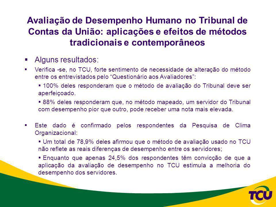 AÇÕES TOMADAS EM GESTÃO DE DESEMPENHO APÓS OS TRABALHOS DE DIAGNÓSTICO