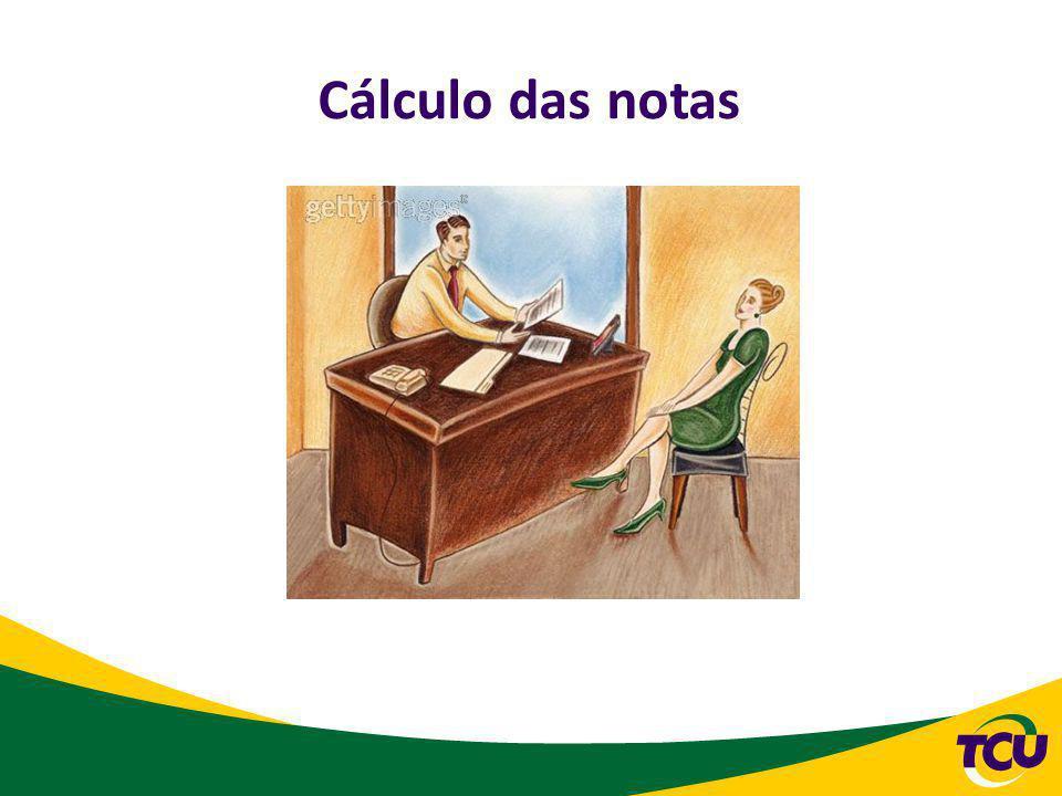 Cálculo da nota O valor máximo da média das notas atribuídas será calculado de acordo com o resultado do departamento e com o resultado da Secretaria-Geral.