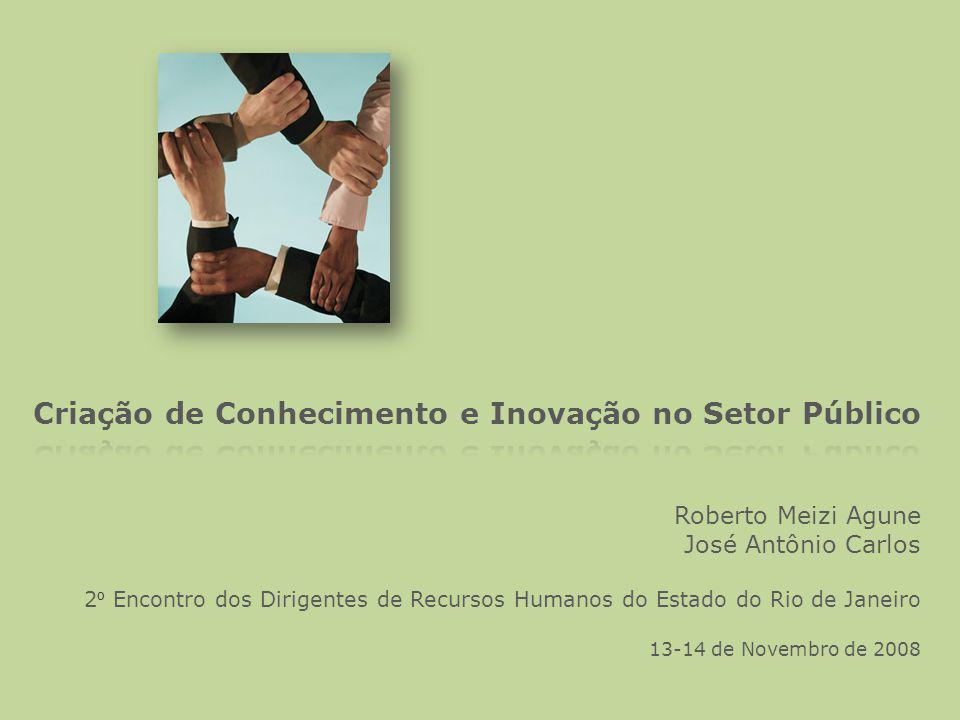 Roberto Meizi Agune José Antônio Carlos 2 º Encontro dos Dirigentes de Recursos Humanos do Estado do Rio de Janeiro 13-14 de Novembro de 2008