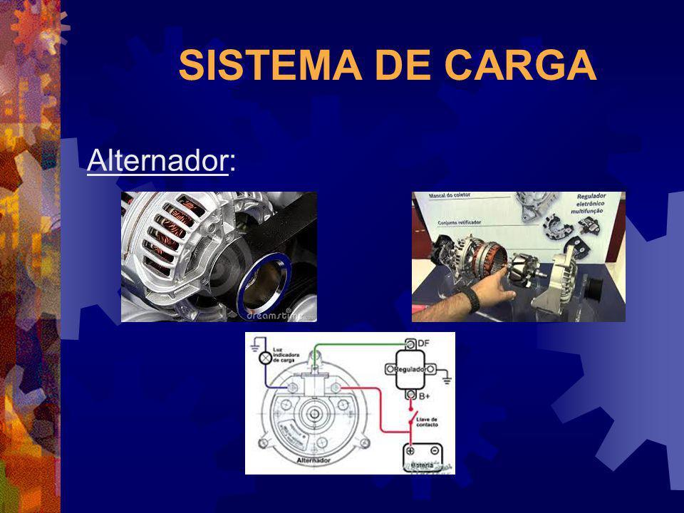 SISTEMA DE CARGA Alternador: