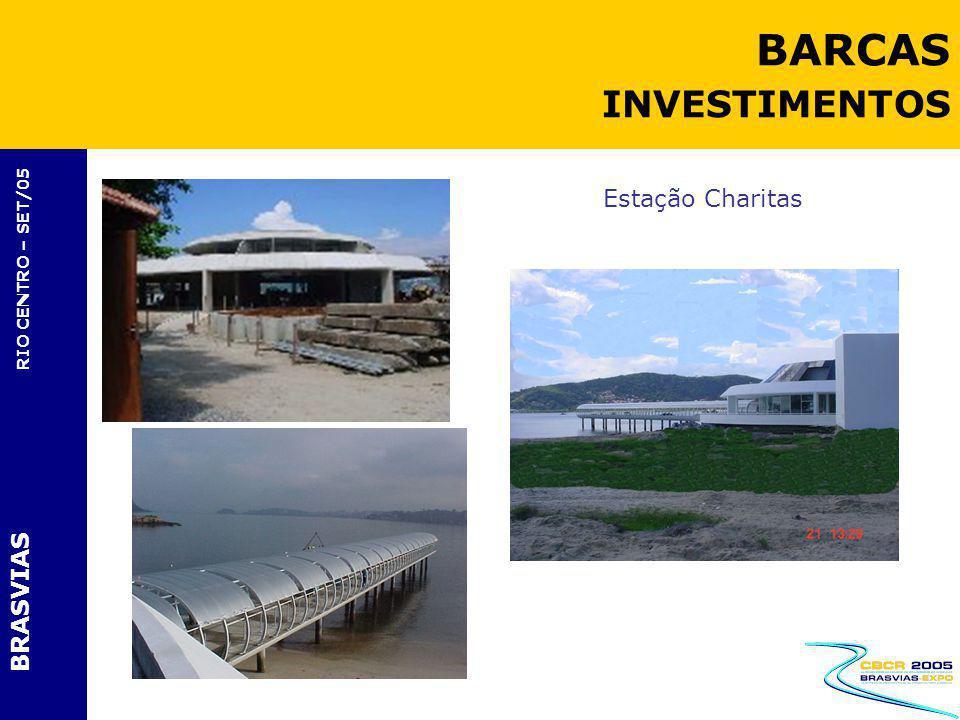 BRASVIAS RIO CENTRO – SET/05 Estação Charitas BARCAS INVESTIMENTOS
